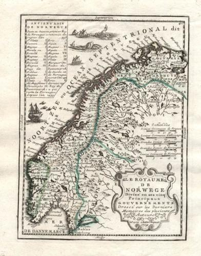 SOLD Le Royaume De Norwege...