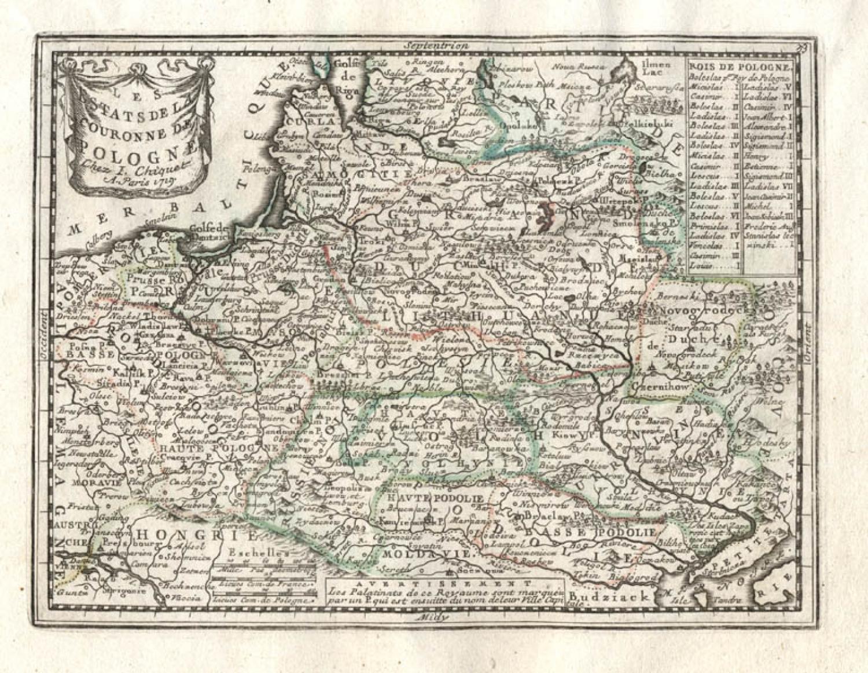 SOLD Les Estats De La Couronne De Pologne