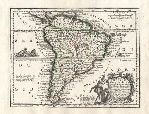 SOLD L'Amerique Meridionale...