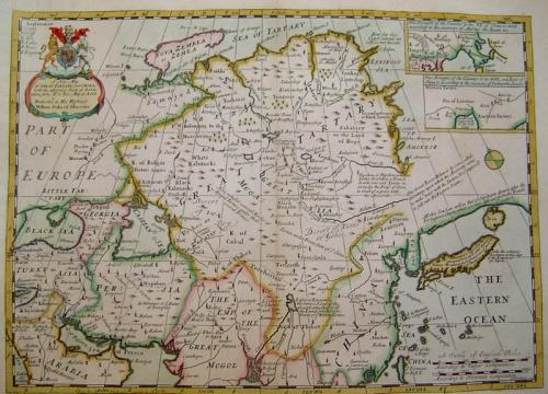 SOLD A new Map of Great Tartary and China...
