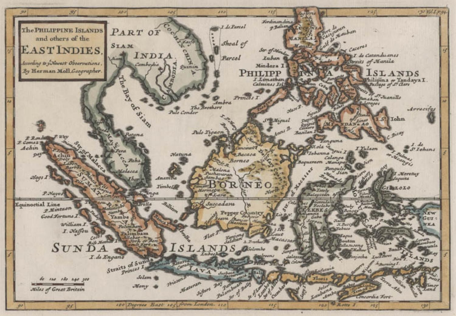 SOLD The Philippine Islands and others of the East Indies...