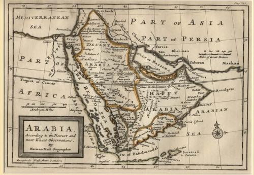 SOLD Arabia according to the Newest and most Exact Observations