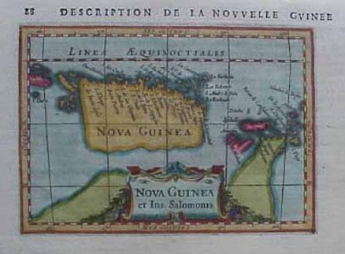 SOLD Nova Guinea et Ins. Salomonis