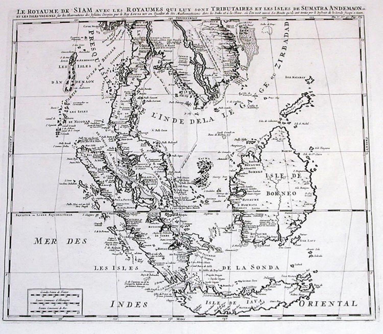 SOLD Le Royaume De Siam...
