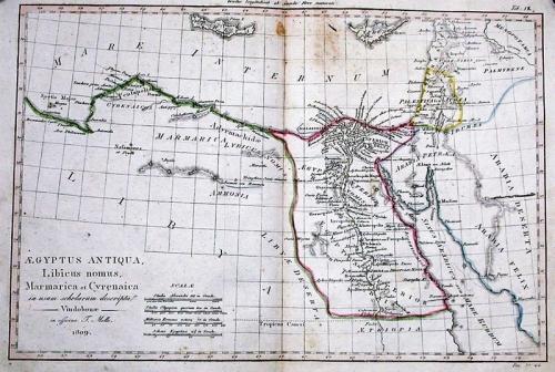 SOLD Aegyptus antiqua, Libicus Nomus, Marmarica et Cyrenaica