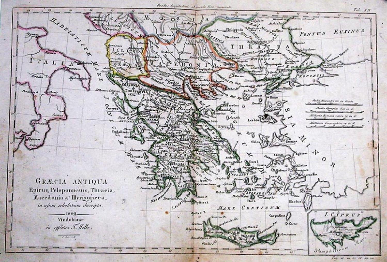 SOLD Graecia antiqua, Epirus, Peloponesus, Thracia, Macedonia et Illyris graeca