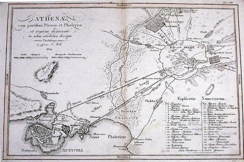 SOLD Athenae cum portibus Piraeo et Phalereo et regione adjacente