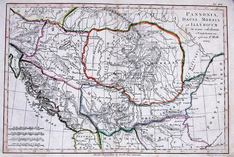 SOLD Pannonia, Dacia, Moesia et Illyricum
