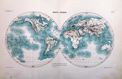 SOLD Mappe Monde