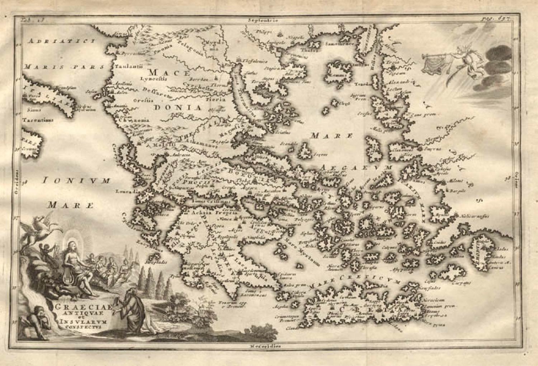 SOLD Graeciae Antiquae et Insularum Conspectus
