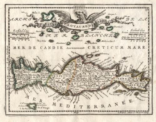 SOLD Isle et Royaume de Candie