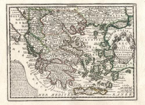 SOLD La Grece ou Partie Meridionale de la Turquie...