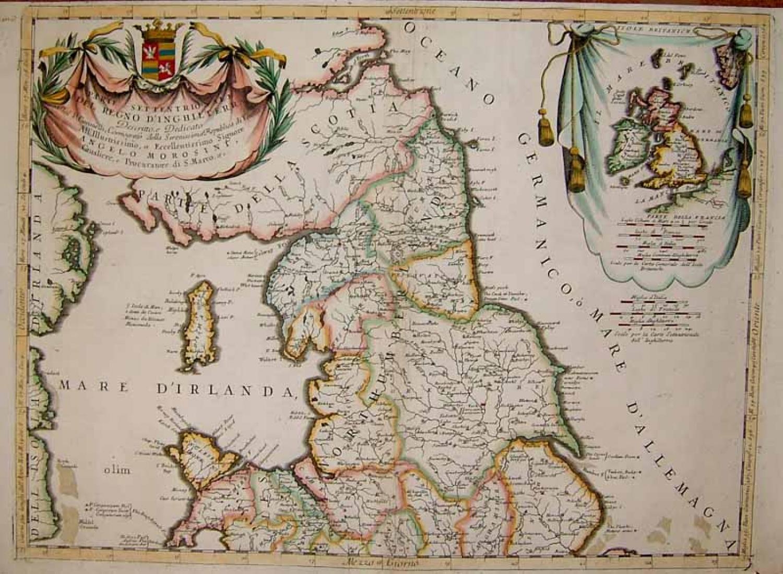 SOLD Partie Meridionale Del Regno D'Inghilterra
