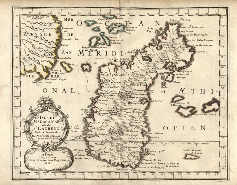 SOLD Isle De Madagascar ou de St. Laurens