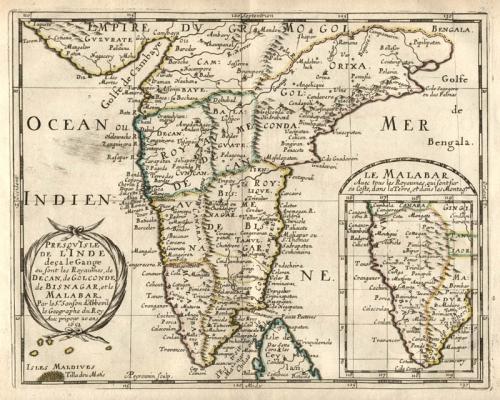 SOLD Presqu'Isle De L'Inde deca le Gange