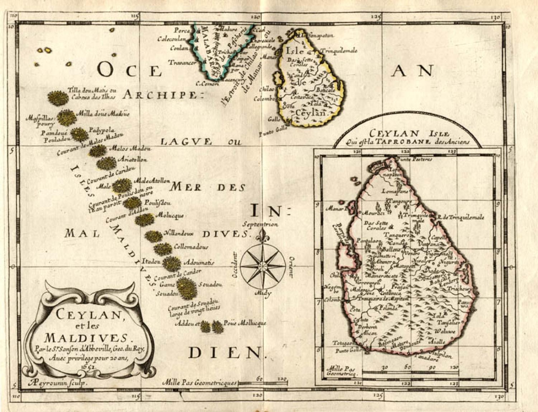 SOLD Ceylan et les Maldives