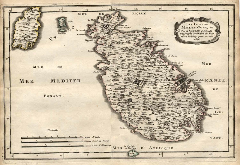 SOLD Les Isles de Malte, Goze, &