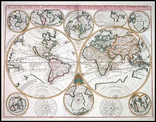 Coronelli / Nolin - Le Globe Terrestre