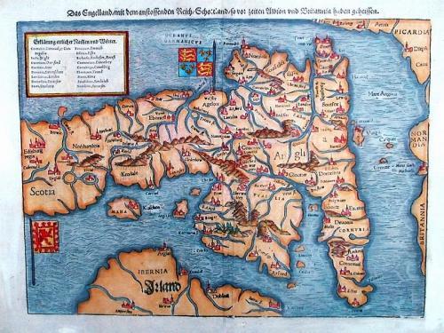 SOLD Das Engelland Mit dem anstossenden Reich/Schotland