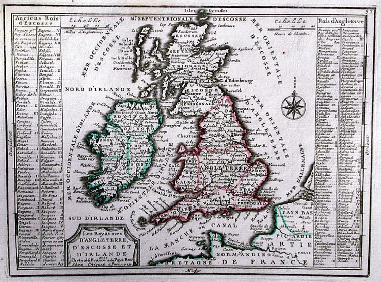 SOLD Les Royaumes D'Angleterre, D'Escosse et D'Irlande