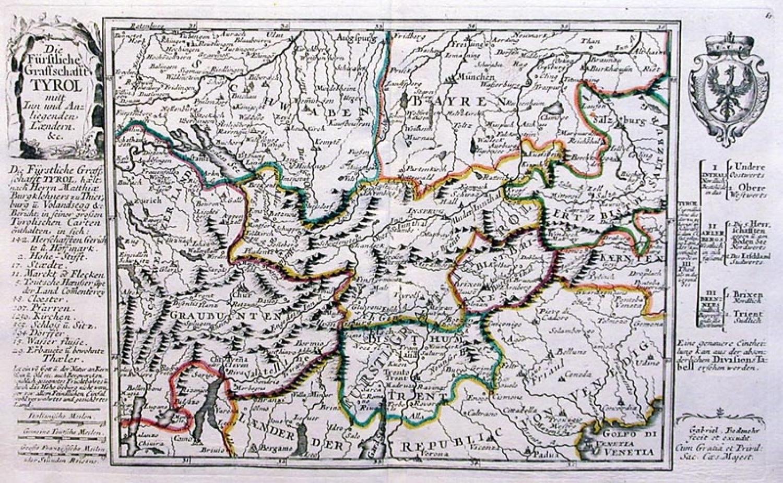 SOLD Die furstliche Graffschafft Tyrol