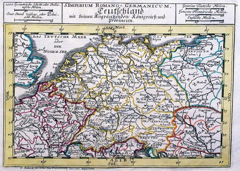 SOLD S. Imperium Romano Germanicum Teutschland