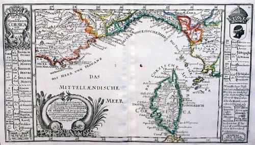SOLD Insul und Konigreich Corsica