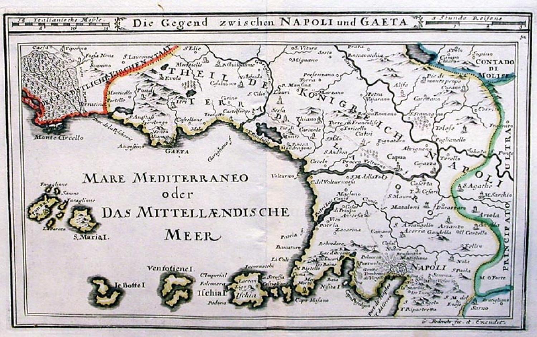 SOLD Die gegend zwischen Napoli und Gaeta