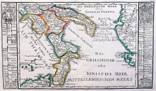SOLD Des Konigreichs Napoli Sud-Theil