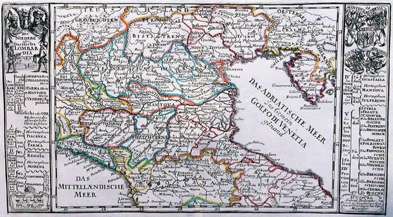 SOLD Die niedere oder Oostliche Lombardia