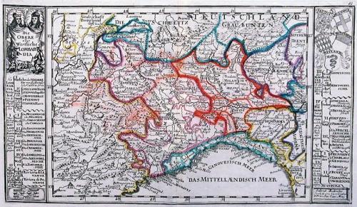 SOLD Die Obere oder Westliche Lombardia