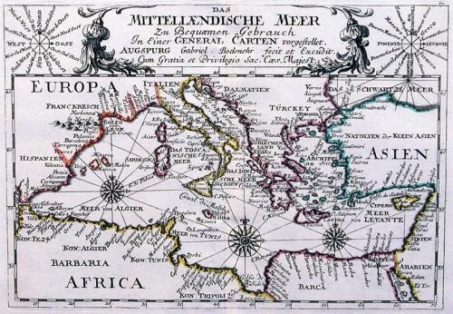 SOLD Das Mittellaendische Meer