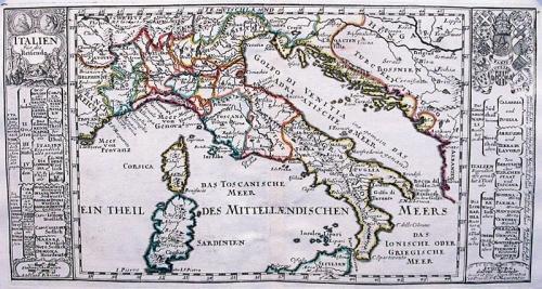 SOLD Italien fur die Reisende