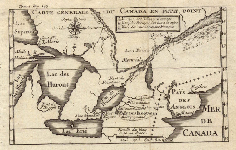 La Hontan - Carte Generale du Canada