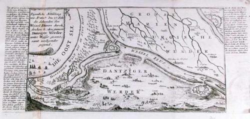 SOLD Eigentliche Abbildung wie Ao. 1657 den 27 febr. Die Schweden den