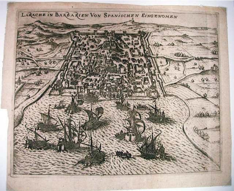 SOLD LaRache in Barbarien von Spanischen Eingenomen