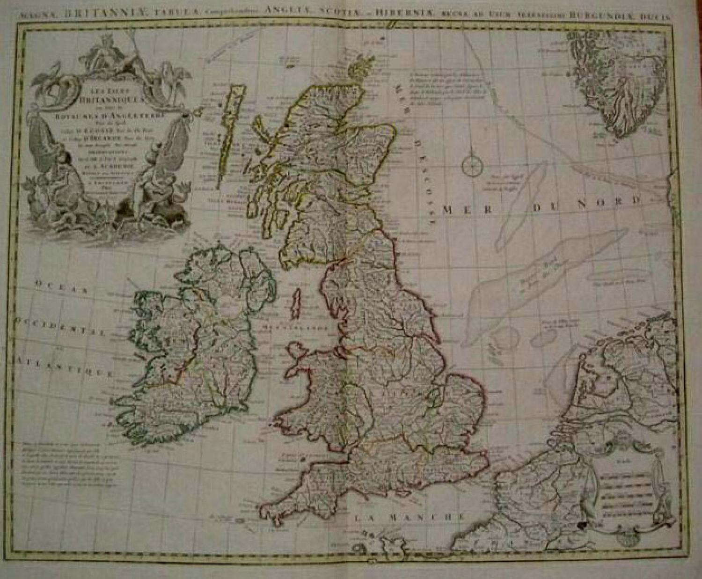 SOLD Les Isles Britanniques ou sont le Royaumes D'Angleterre.