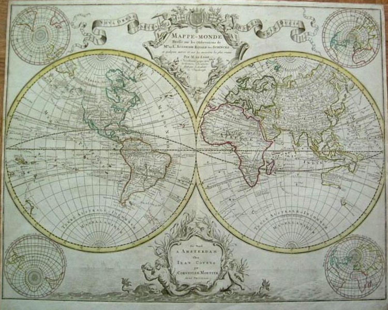 SOLD Mappe-Monde....