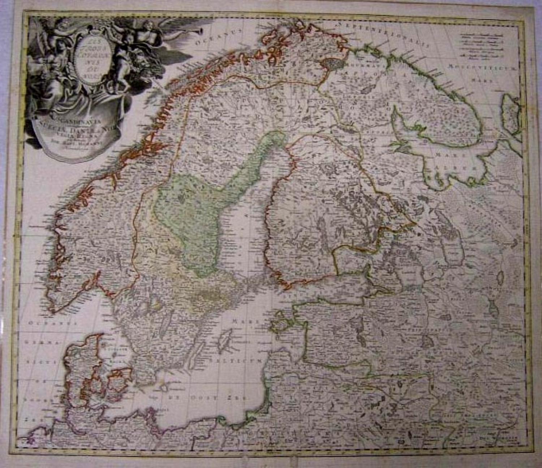 SOLD Scandinavia complectens Sueciae, Daniae & Norvegiae regna