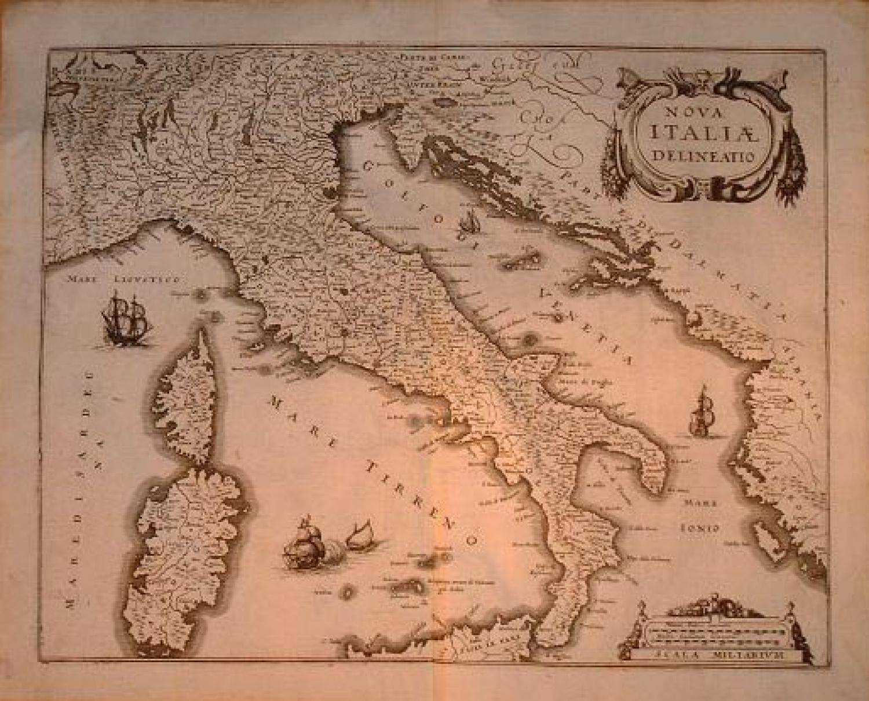 Merian - Nova Italiae Delineation