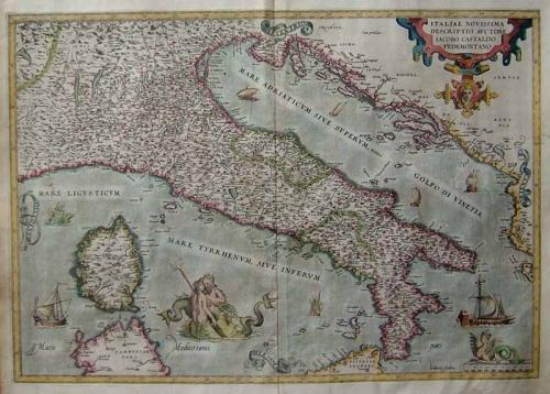 SOLD Italiae Novissima Descriptio