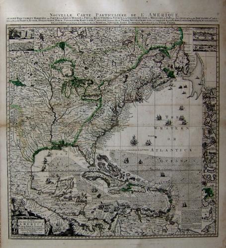 Popple -Map of the British Empire in  America