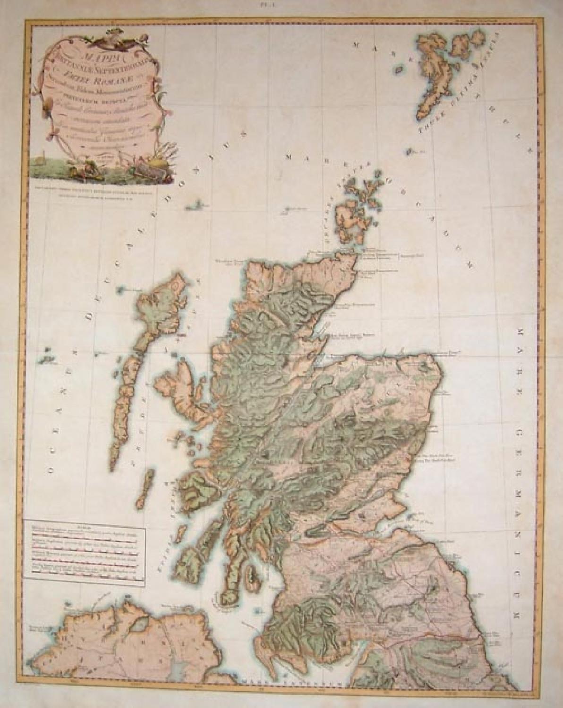 SOLD Mappa Britanniae Sepentrionalis