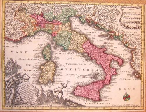 Seutter - Nova Totius Italiae...