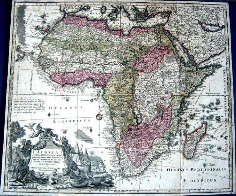 SOLD Africa Juxta Navigationes et Obervationes Recentissimas...