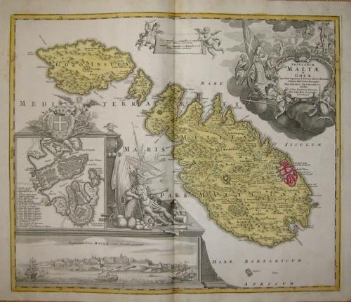 SOLD Insularem Maltae et Gozae