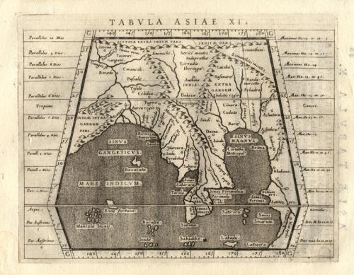 Magini - Tabula Asiae XI