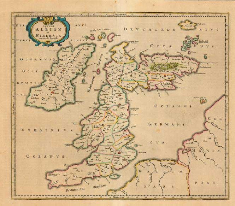 SOLD Insulae Albion et Hibernia cum minoribus adjacentibus