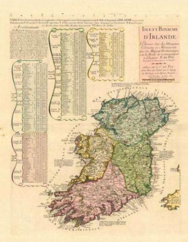SOLD Isle et Royaume d' Irlande...