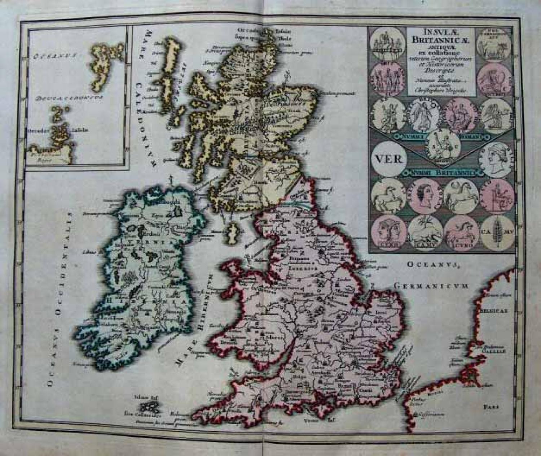 SOLD Insulae Britannicae Antiquae